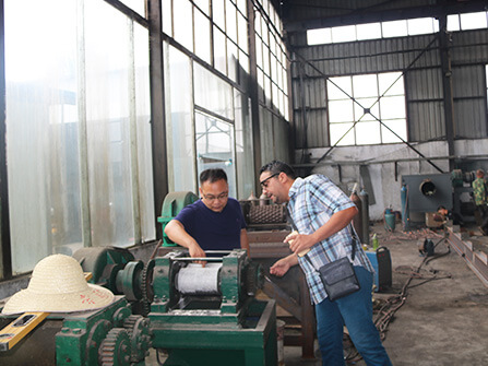 Algeria Daman customer visit