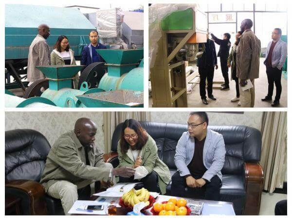 Nigeria customers visit